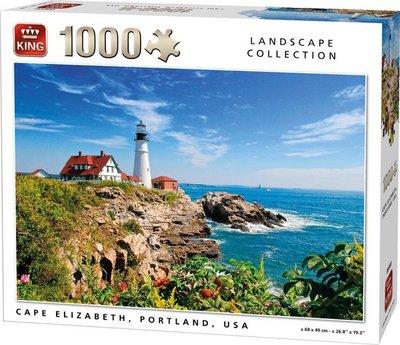 05709 King Puzzel Cape Elisabeth Portland USA 1000 stukjes