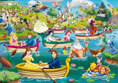 05260 King Puzzel Disney Fun on the Water 1000 Stukjes