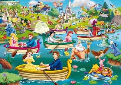 05260 King Puzzel Disney Fun on the Water 1000 Stukjes