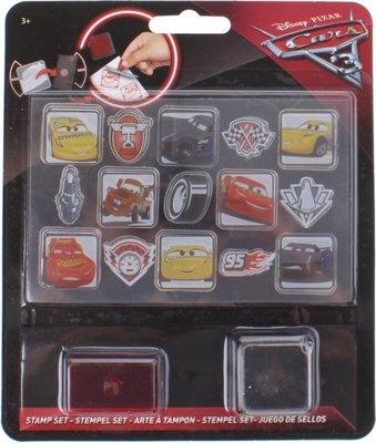 75653 Disney Stempelset Cars 17-delig