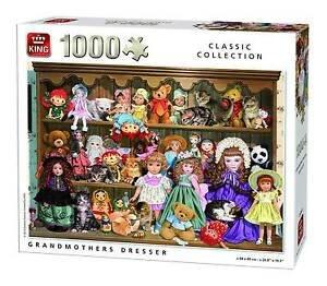 05365 King Puzzel Grandmothers Dresser 1000 stukjes