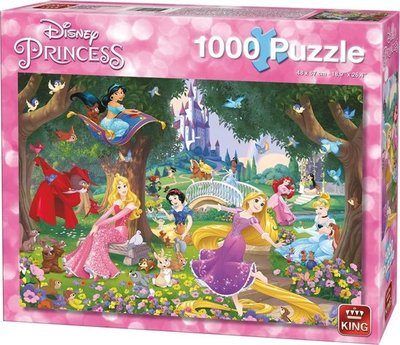 05278 King Puzzel Disney Princess 1000 Stukjes