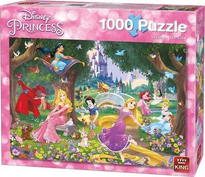 05278 King Puzzel Disney Princess 1000 Stukjes