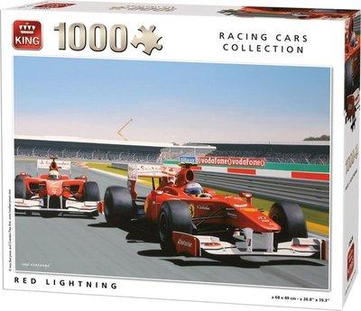 05626 King Puzzel Red Lightning 1000 Stukjes