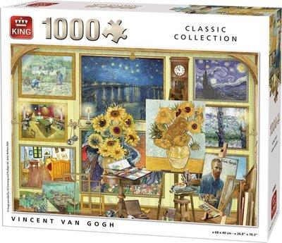 55865 King Puzzel Vincent Van Gogh 1000 Stukjes