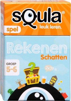 04276 Squla Rekenen Kaartspel Groep 5-6