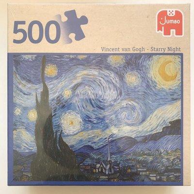81760 Jumbo Puzzel Vincent van Gogh De Sterrennacht 500 stukjes