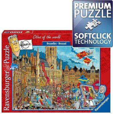 165544 Ravensburger Puzzel Fleroux Brussel 925 stukjes