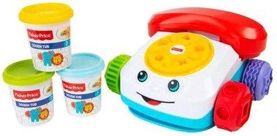 33655 Fisher-Price Klei Telefoon met 3 Portjes Klei