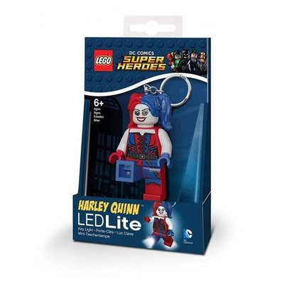 99 Lego: DC Harley Quinn Key Light with batteries
