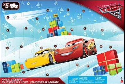 Mattel Cars 3 Adventskalender