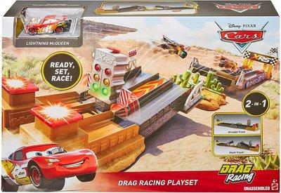 Mattel Disney Pixar Cars Drag Racing Speelset