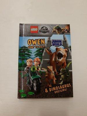 507512 LEGO Jurassic World Owen komt te hulp Boek