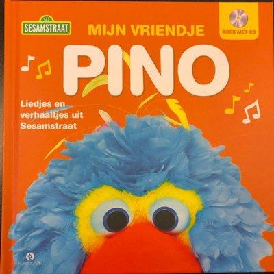 622734 Sesamstraat Boek Mijn vriendje Pino