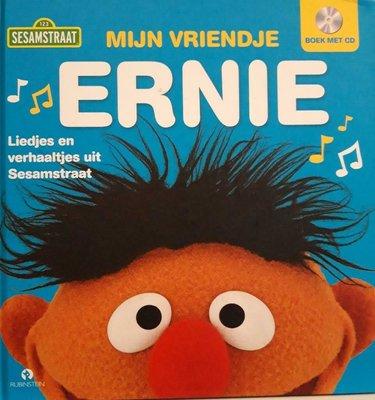 622710 Sesamstraat Boek Mijn vriendje Ernie