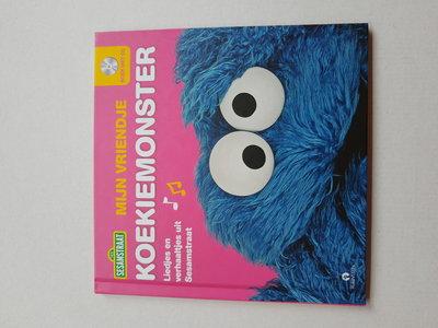 622758 Sesamstraat Boek Mijn vriendje Koekiemonster