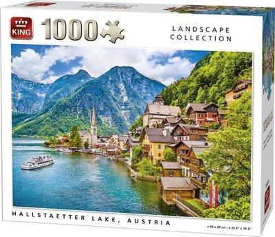 05650 King Puzzel Hallstaetter Lake 1000 Stukjes