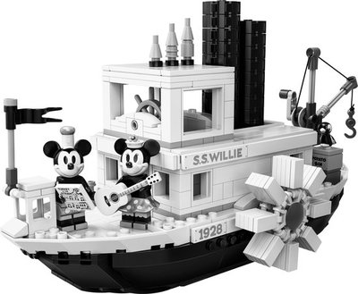 21317 LEGO Ideas Steamboat Willie