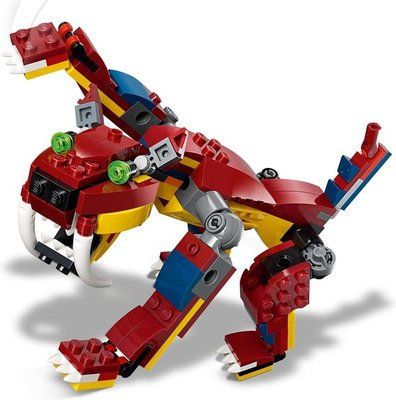 31102 LEGO Creator Vuurdraak