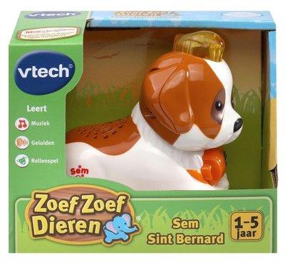 510323 VTech Zoef Zoef Dieren Sem Sint Bernard