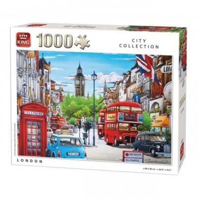 05361 King Puzzel London 1000 Stukjes