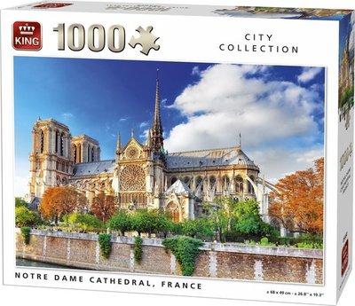 05660 King Puzzel Notre Dame Parijs 1000 Stukjes