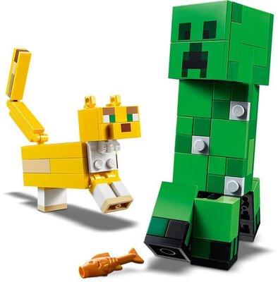 21156 LEGO Minecraft BigFig Creeper and Ocelot