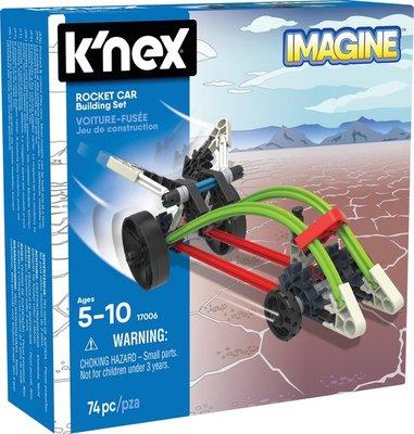 17006 Knex Building Sets - Rocket Car