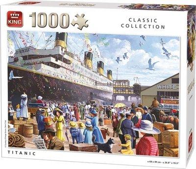 05134 King Puzzel Titanic 1000 Stukjes