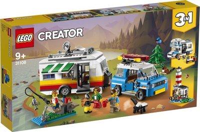 31108 LEGO Creator Familievakantie met Caravan