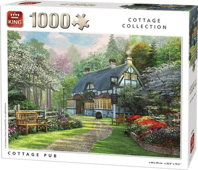 05356 King Puzzel Cottage Pub 1000 stukjes