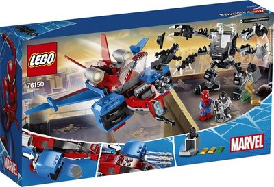 76150 LEGO Spider-Man Spiderjet vs. Venom Mecha