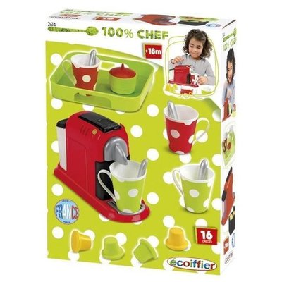 26143 Ecoiffier Chef Speelgoed Espresso Machine