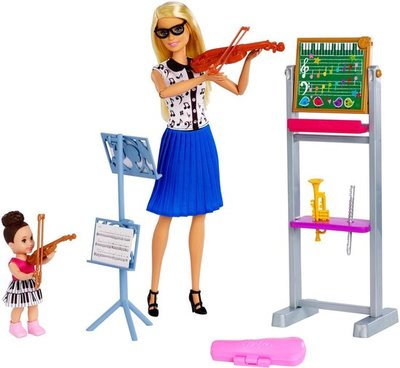Mattel Barbie Careers Muzieklerares Barbiepop