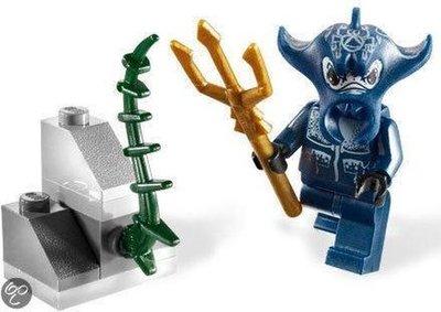 8073 LEGO Atlantis Manta strijder