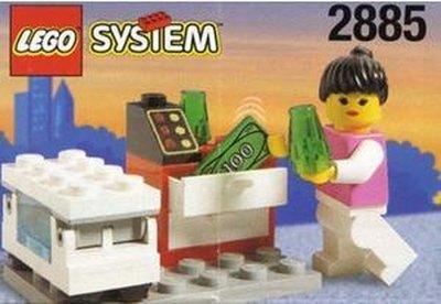 2885 Lego IJsverkoopster