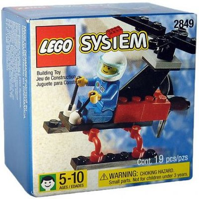 2849 LEGO System Gyrocopter