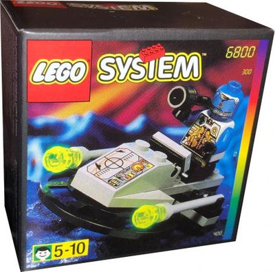 6800 LEGO Space UFO Cyber Blaster
