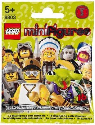 8803 LEGO Minifigures Serie 3
