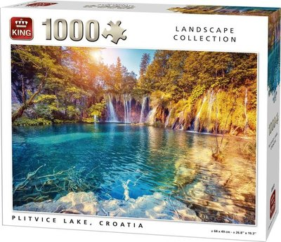 05651 King Puzzel Plitvice Lake 1000 Stukjes