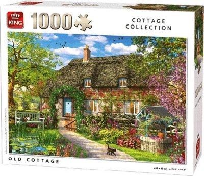 55956 King Puzzel Old Cottage 1000 Stukjes
