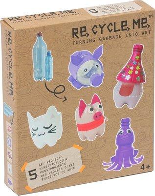 29827 Re-Cycle-Me knutselpakket PET Fles