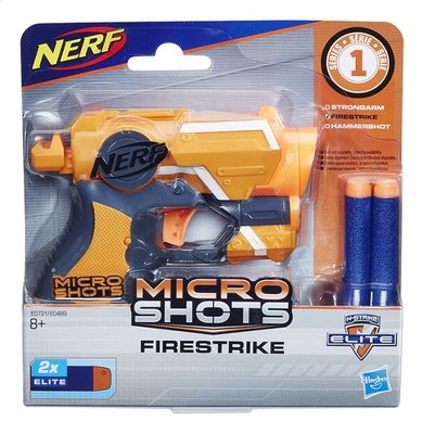 0721 NERF Microshots Firestrike SE1 Blaster