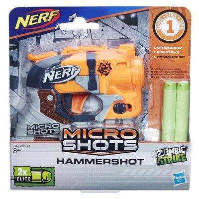 0720 NERF Microshots Hammershot SE1Blaster