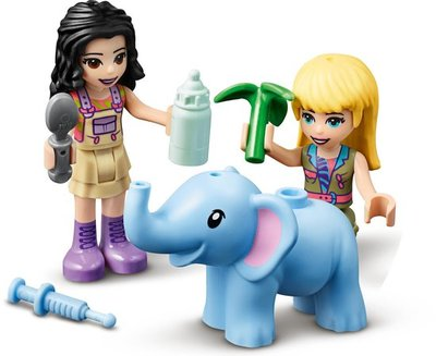 41421 LEGO Friends Reddingsbasis Babyolifant in Jungle