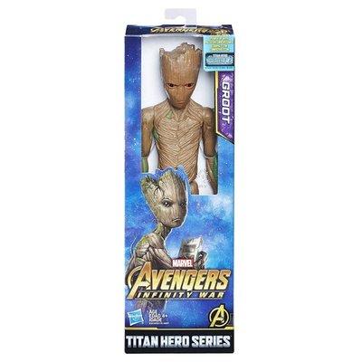 2216 Hasbro Marvel Avengers: Infinity War Titan Hero Series Groot actiefiguur 29cm