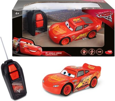54198 Cars 3 RC Lightning McQueen Single Drive