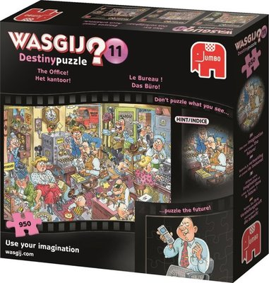 81534 Jumbo Puzzel Wasgij Destiny 11 Het kantoor! 950 stukjes