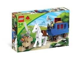 4862 LEGO Duplo Ridder Koets