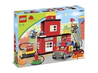 4664 LEGO Duplo Brandweerkazerne